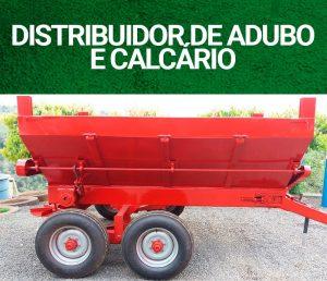 DISTRIBUIDOR DE ADUBO ORGÂNICO E CALCÁRIO